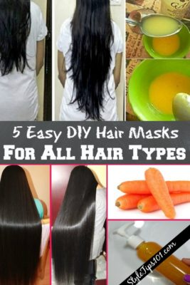 Easy DIY Hair Masks