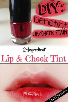 Homemade Lip Tint