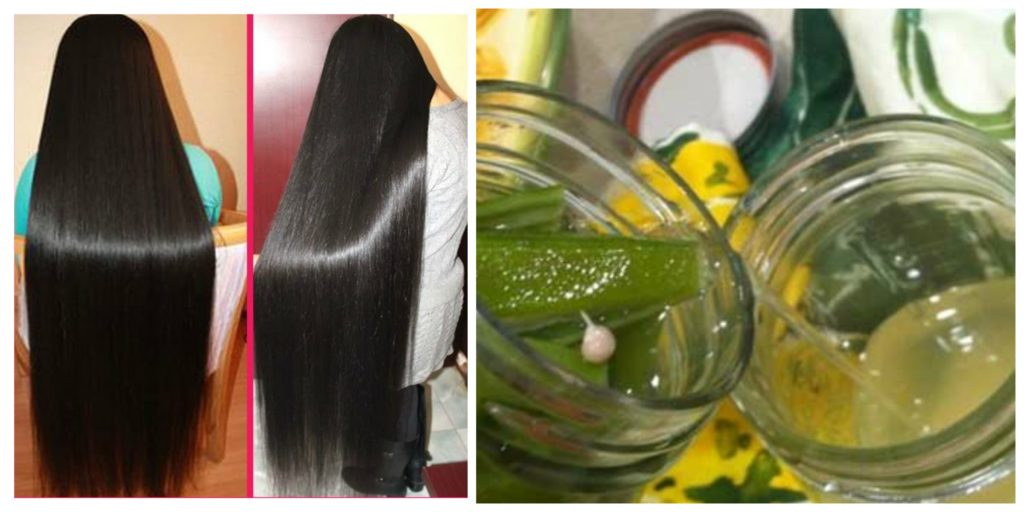 Okra for Long Hair
