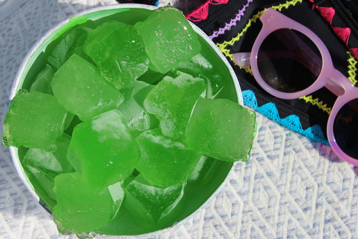 DIY Aloe Vera Ice Cubes for Dark Circles, Puffy Eyes, and Irritated Skin