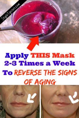 diy anti-aging grape face mask