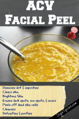 diy facial peel