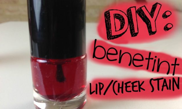 Homemade Lip Tint Recipe