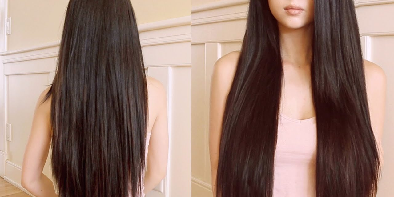 how to grow your hair long fast diy