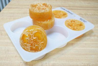 loofah soap tutorial