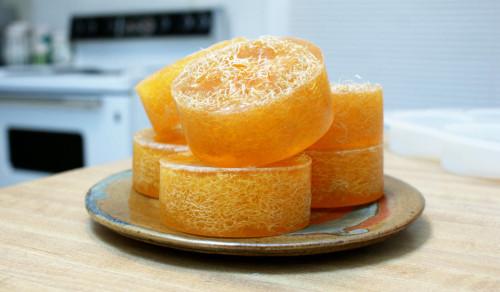 DIY Loofah Soap Recipe