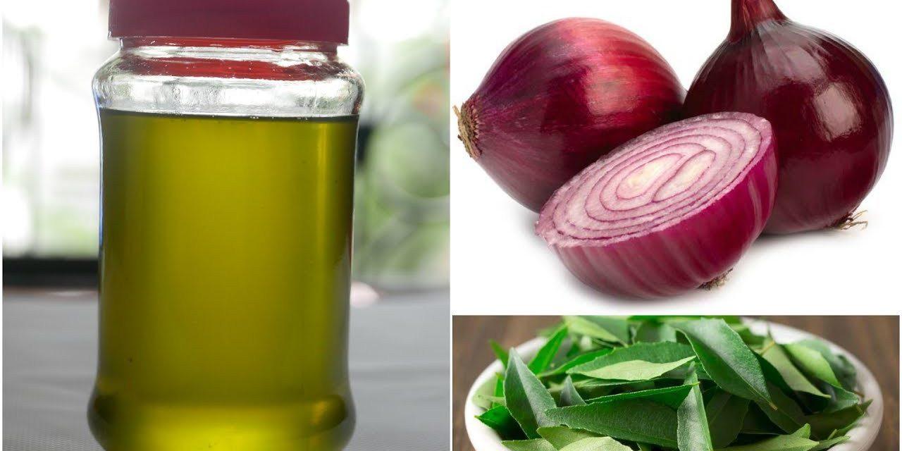 DIY Onion Hair Oil For Hair Growth & Health
