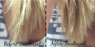 Before and After Split Ends