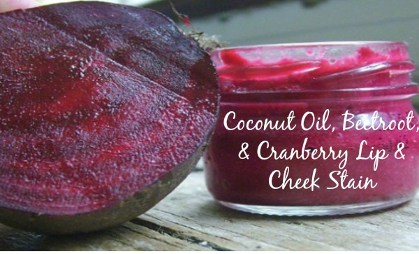 DIY Cranberry Lip Gloss & Skin Stain