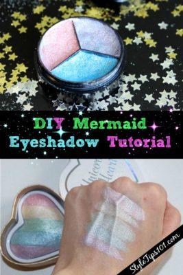 DIY Mermaid Eyeshadow