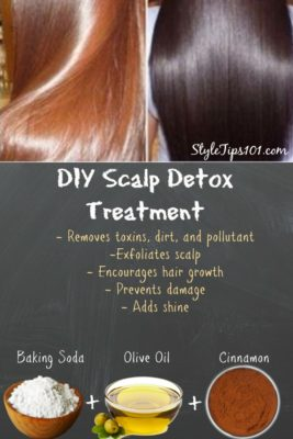 DIY Scalp Detox Treatment