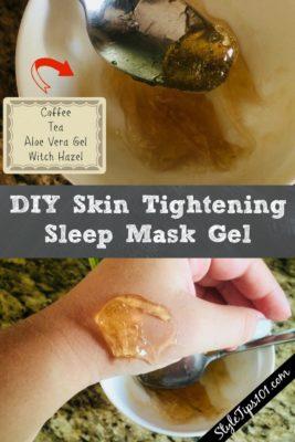DIY Skin Tightening Sleep Mask