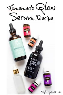 Homemade Glow Serum