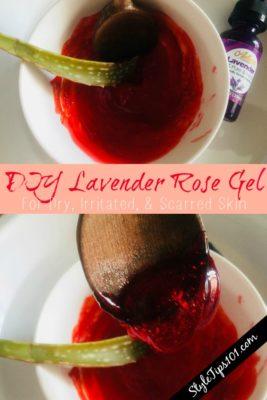 Lavender Rose Gel