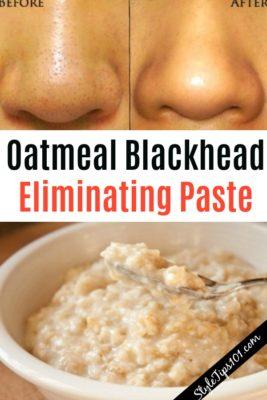 Oatmeal Blackhead Eliminating Paste