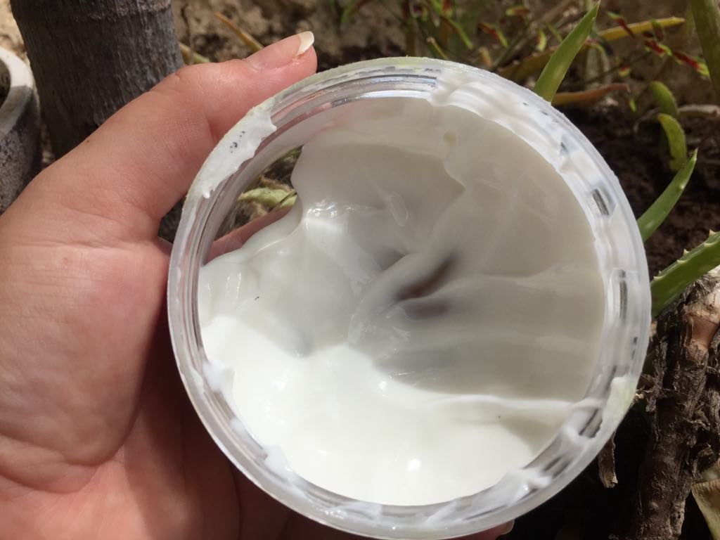 homemade coconut lotion
