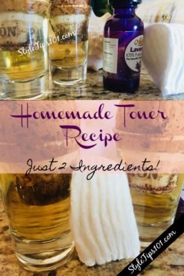 Homemade Toner Recipe