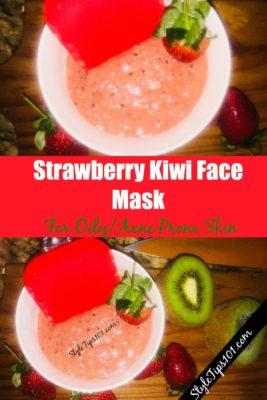 Strawberry Kiwi Face Mask