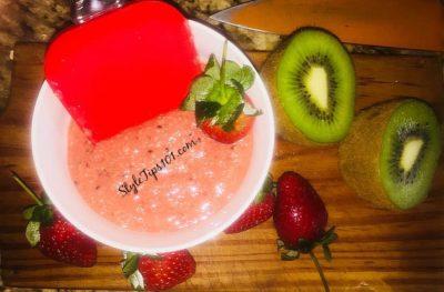 Strawberry Kiwi Mask