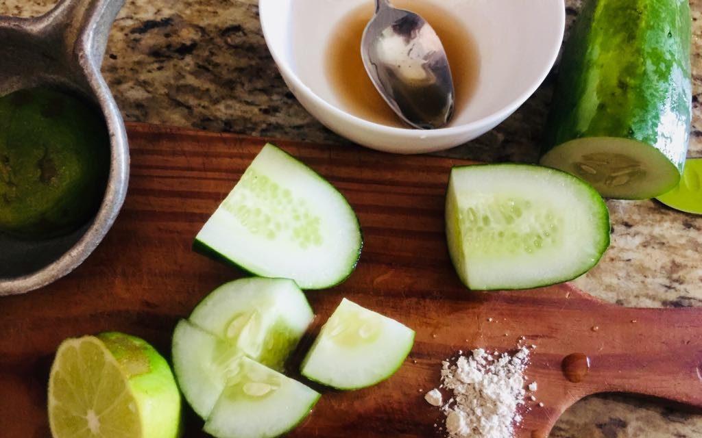 DIY Cucumber Face Mask Recipe For Oily Skin