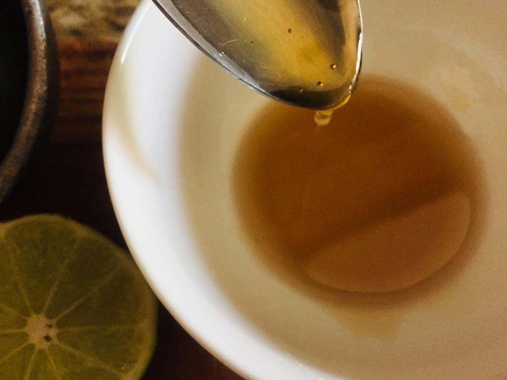 honey lime juice mask