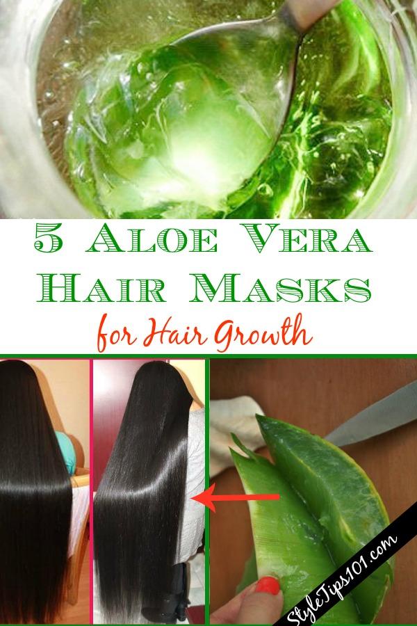 Aloe Vera Hair Masks