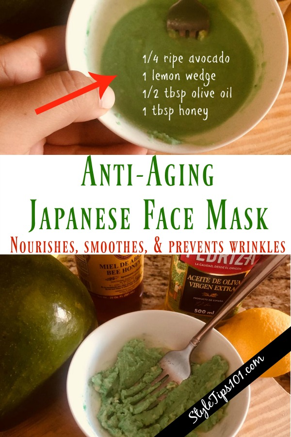 DIY Japanese Face Mask