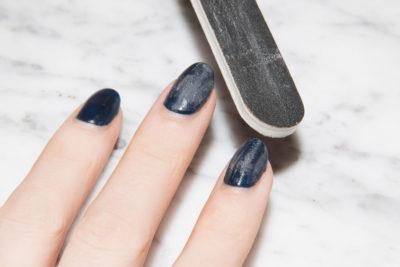 buffing gel nail polish