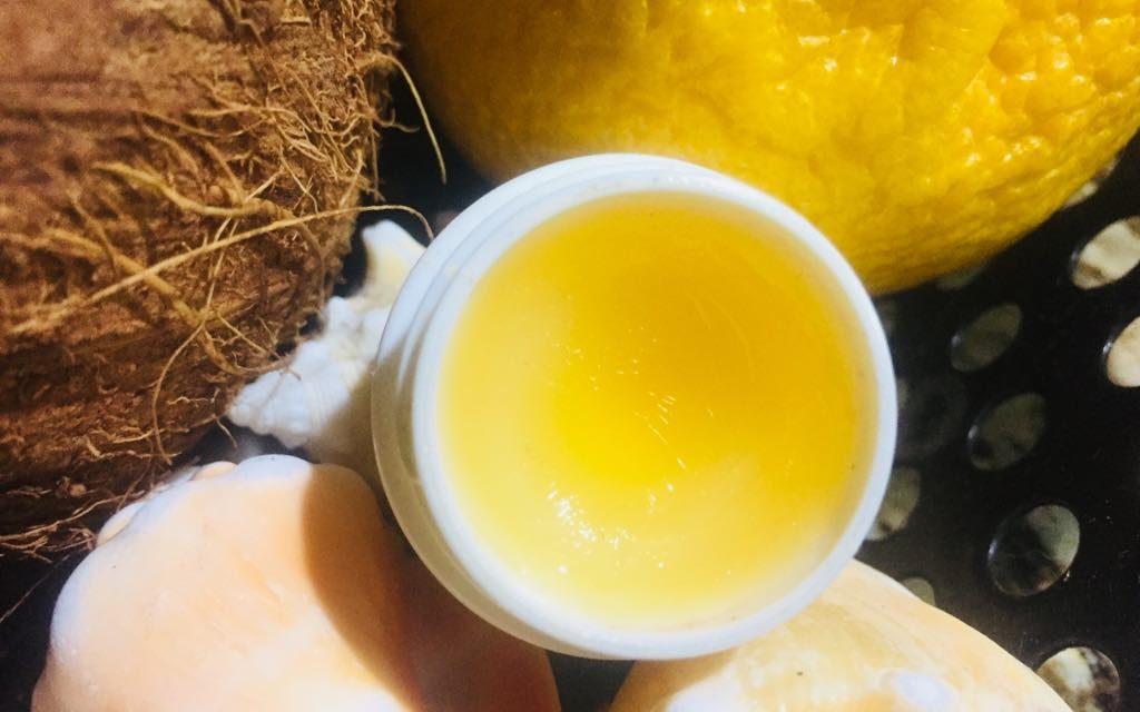 Homemade Lemonade Lip Balm