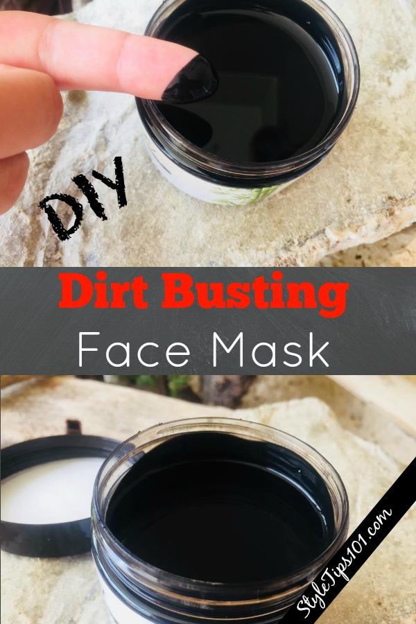 DIY Dirt Busting Face Mask