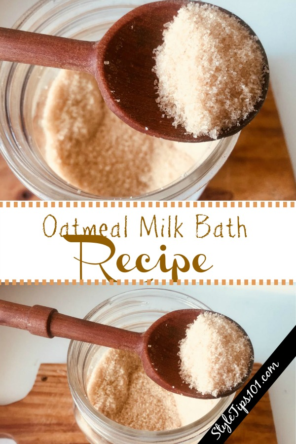 Oatmeal Milk Bath
