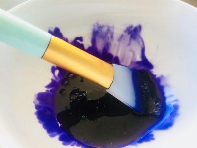 homemade purple shampoo