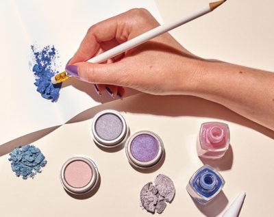 making your own nail polish