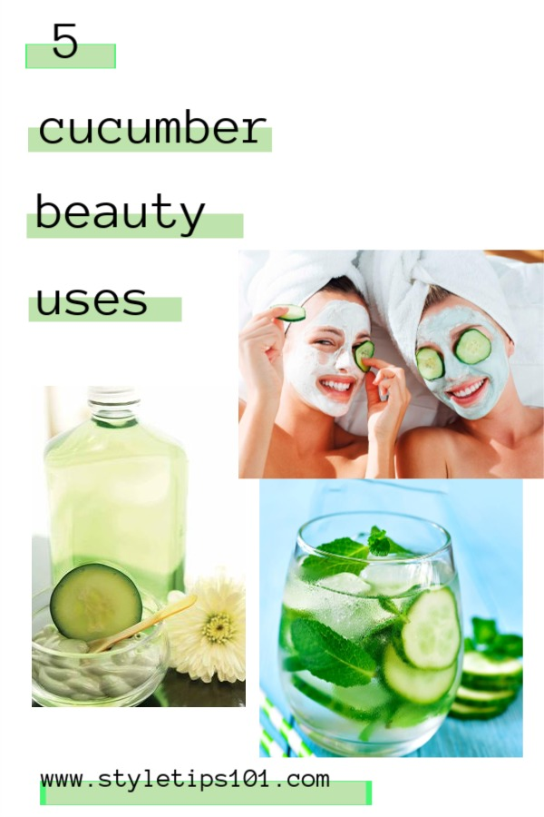 Cucumber Beauty Uses