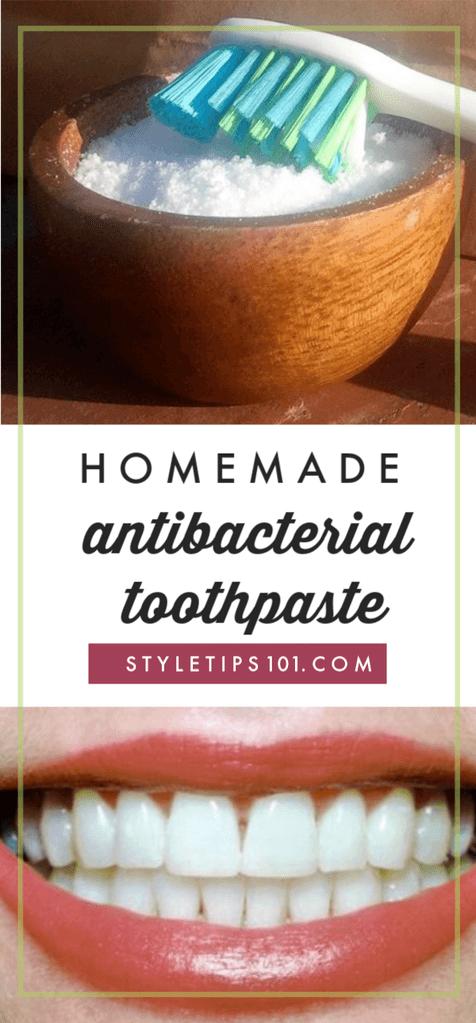 DIY Antibacterial Toothpaste