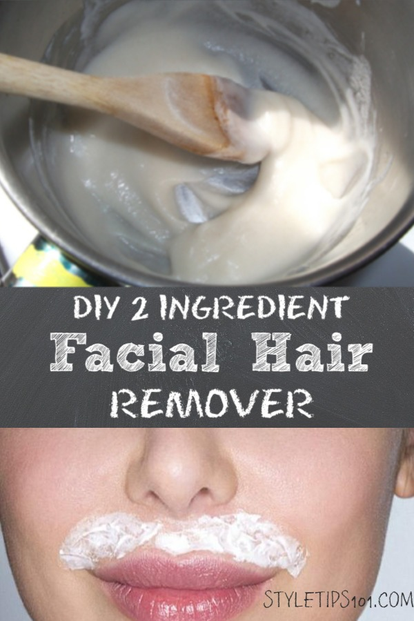 DIY Facial Hair Remover