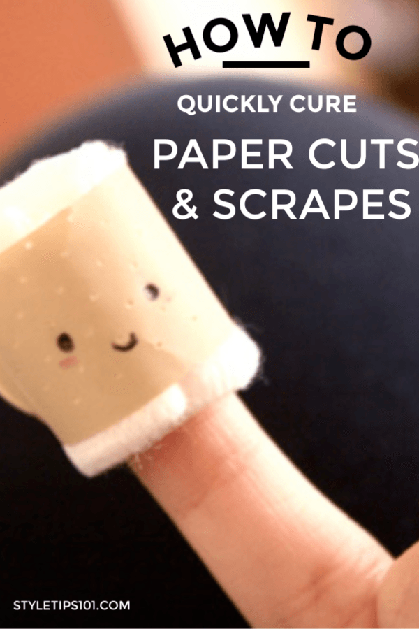 How to Cure Paper Cuts