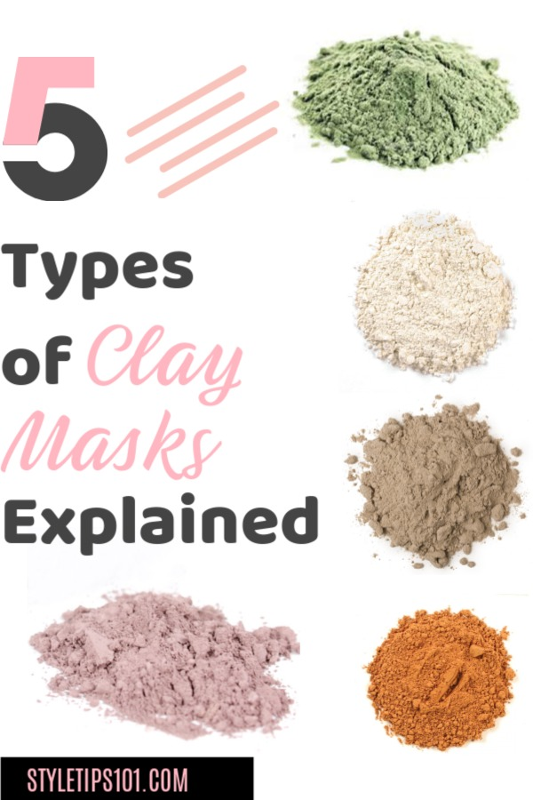 Types of Clay Masks