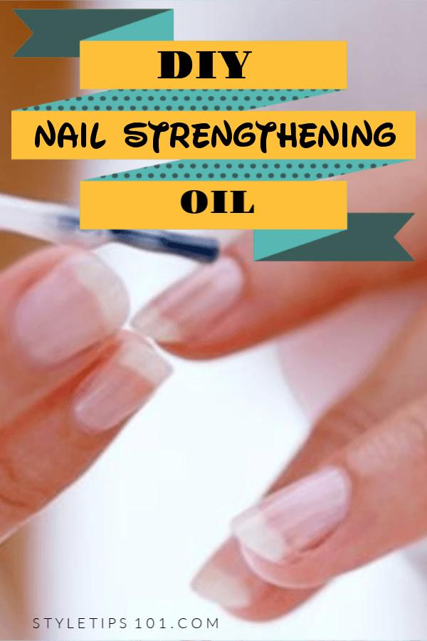 DIY Nail Growth Oil