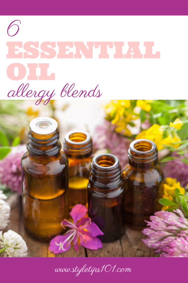 Essential Oil Allergy Blends