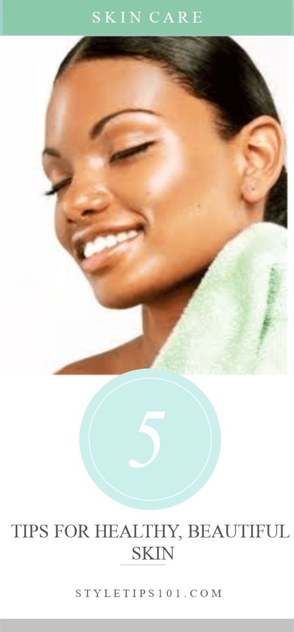 These 5 tips for healthy skin will give you the BEST skin ever! #skincare #healthyskin #diybeauty
