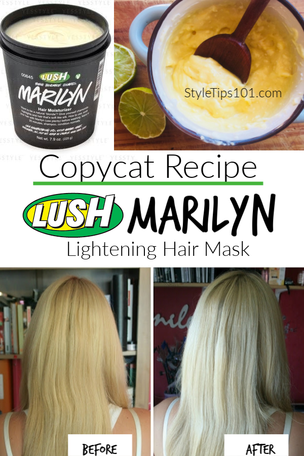 Copycat Lush Marilyn Mask