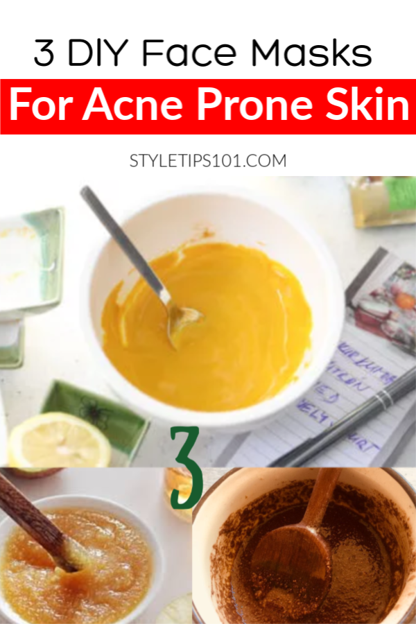 DIY Acne Face Masks