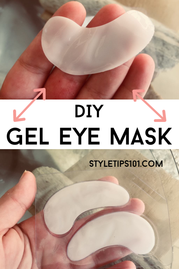DIY Gel Eye Mask