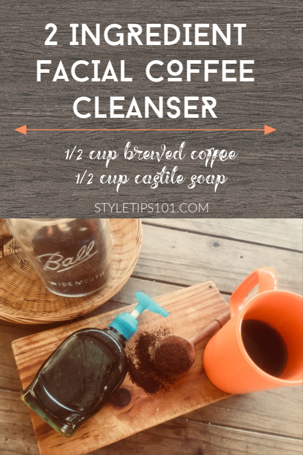 Homemade Coffee Cleanser