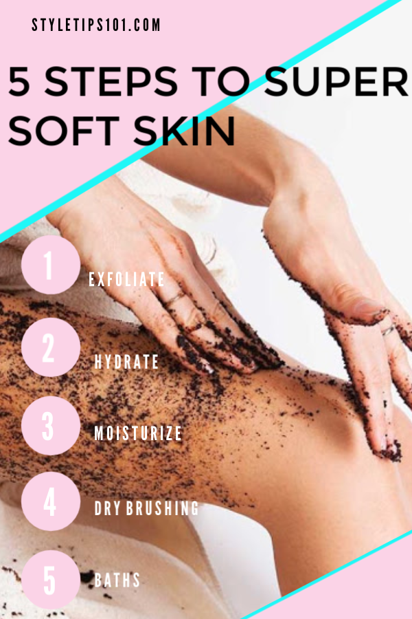 Tips for Soft Skin