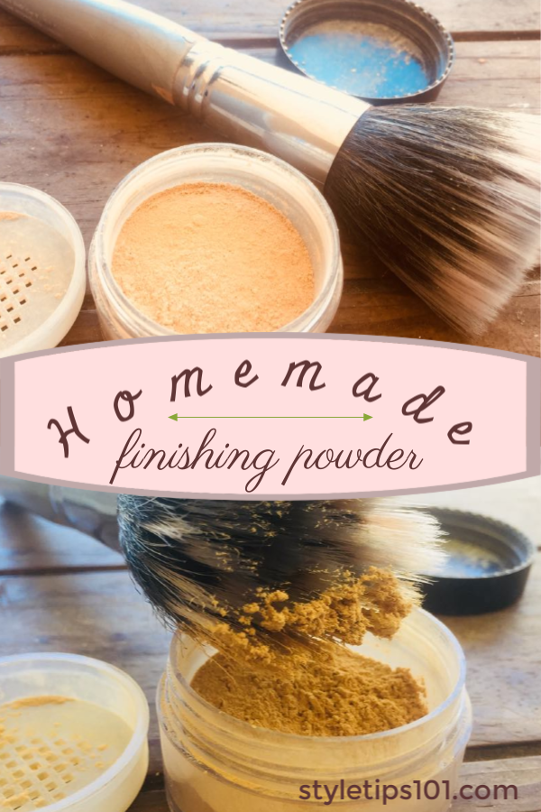 Homemade Finishing Powder