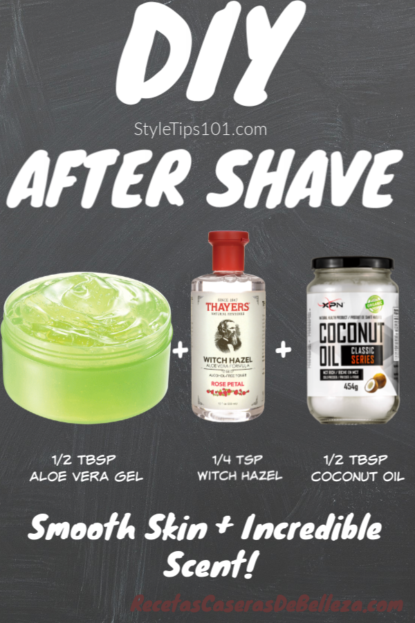 Looking for an all natural after shave lotion? Look no further than this DIY after shave lotion made entirely out of all natural, soothing ingredients! #diyaftershave #diybeauty