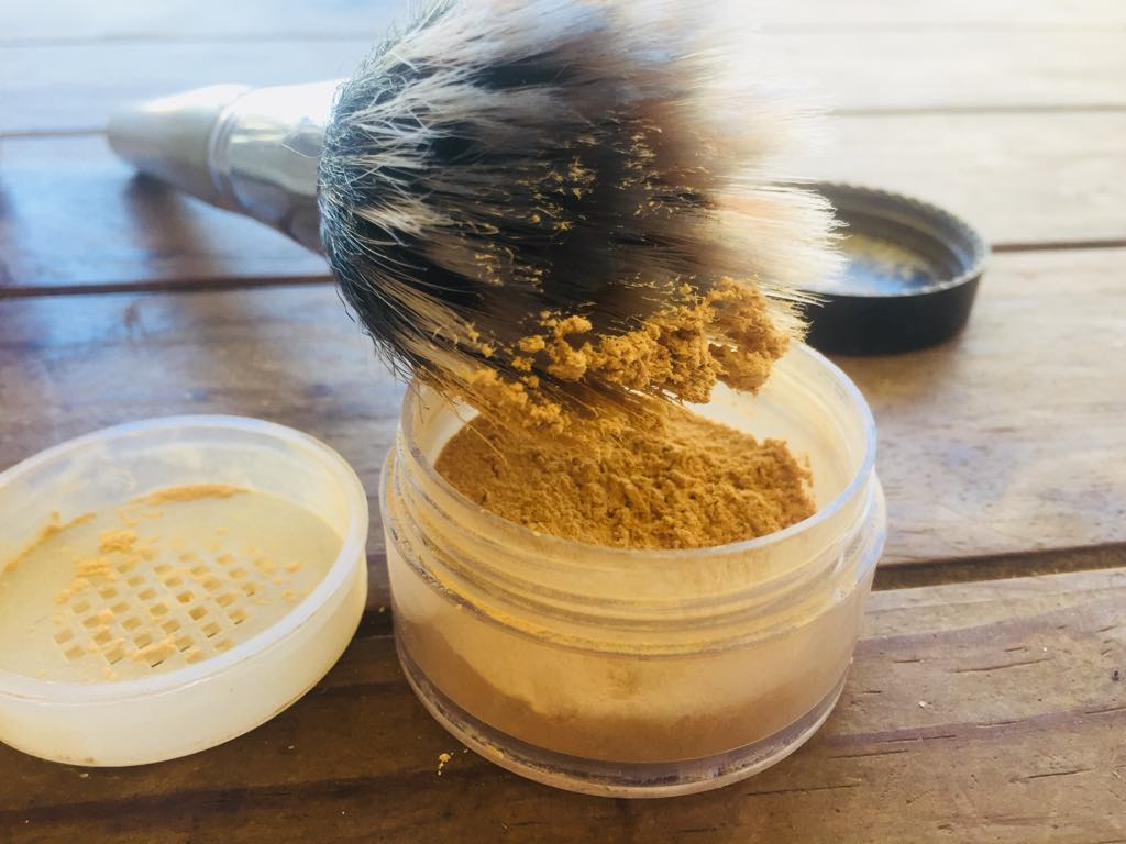homemade setting powder