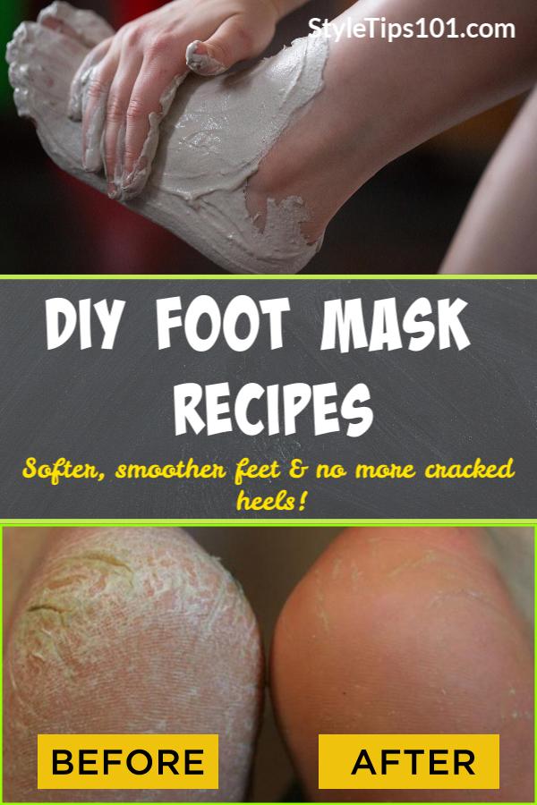 DIY Foot Mask